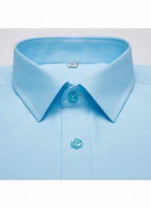 Camisa Social Masculina Verde Claro