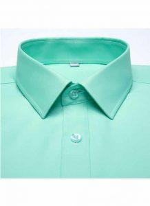 Camisa Social Masculina Verde