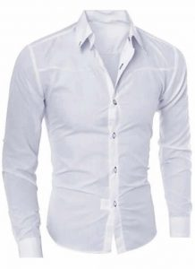 Camisa Branca Importada Slim Fit