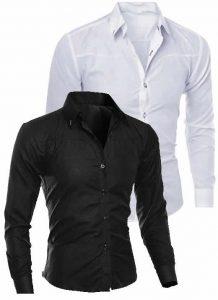 Camisas Importadas Branca e Preta