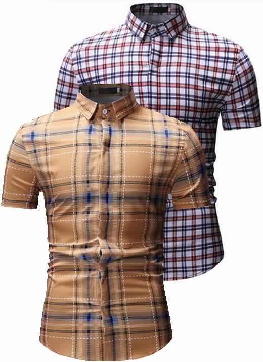 Kit Camisas Xadrez Masculinas