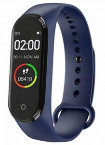 Relógio Inteligente Mi Band 4 Smartwatch Fitness Azul