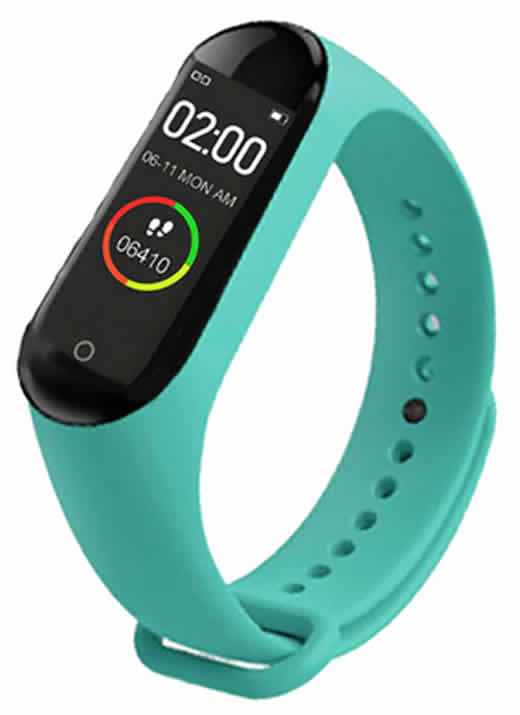 Relógio Inteligente Mi Band 4 Smartwatch Fitness verde