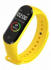 Relógio Inteligente Mi Band 4 Smartwatch Fitness Amarelo