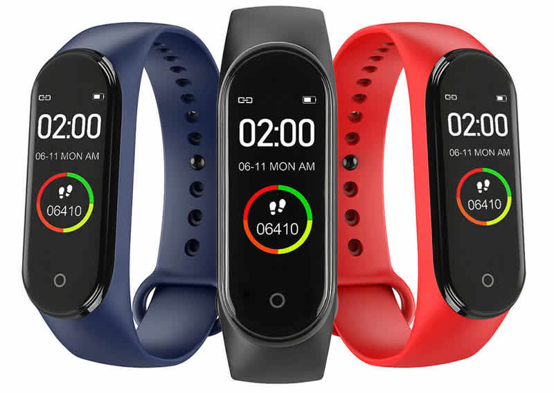 Relógio Inteligente Mi Band 4 Smartwatch Fitness