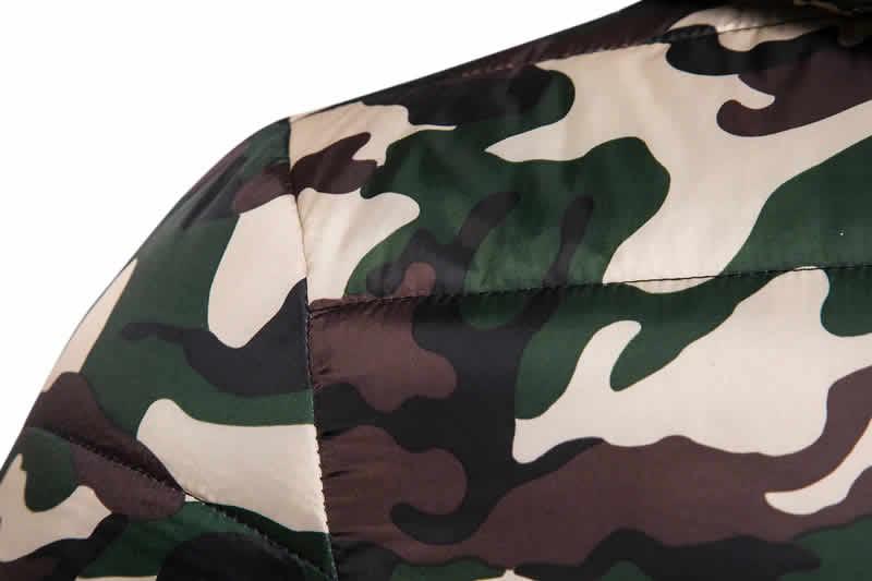 Jaqueta Impermeavel militar polo grf masculina camuflada