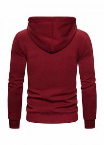 Blusa de Moletom Vibe Basic - Vermelha