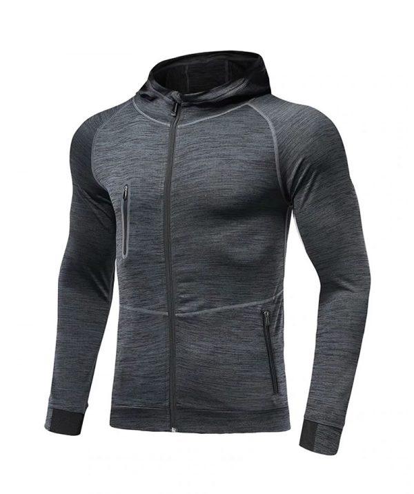 Blusa Griffe - Academia e Esportes Fitness – Cinza Escuro