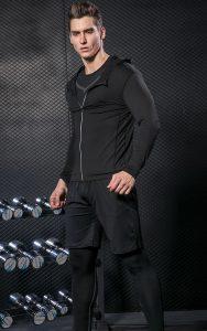 Blusa Academia e Esportes Fitness - Preta