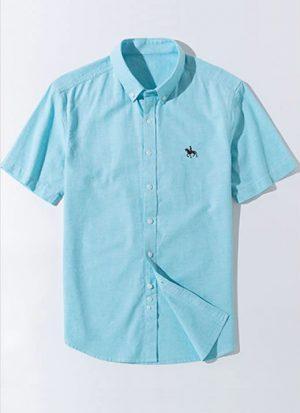 Camisa Algodão Oxford - Verde