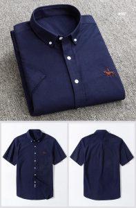Camisa Algodão Oxford - Azul Escuro