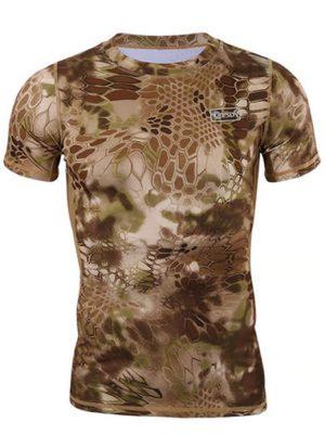 Camisa Estilo Tático Militar Amarelo
