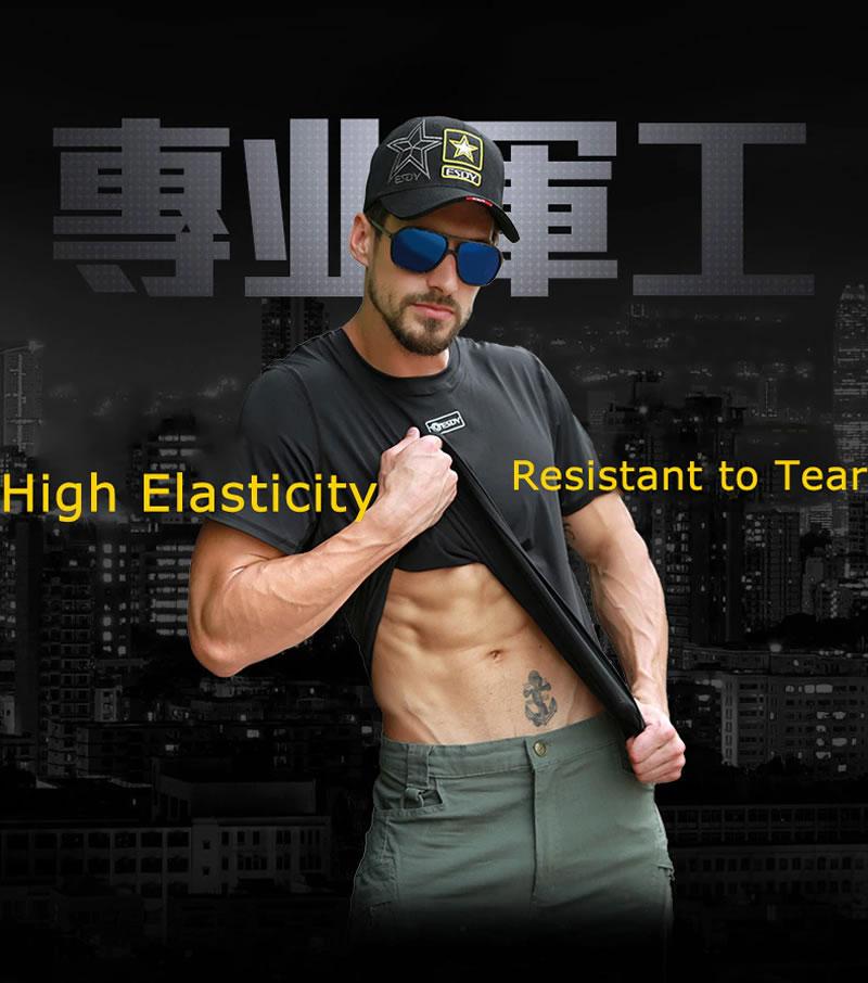 Camisa Militar Masculina Estilo