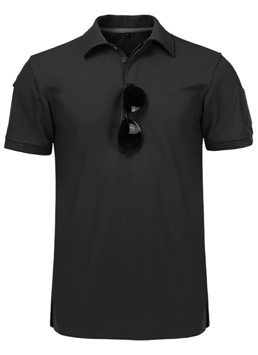 Camisa Polo Militar, Camisa Militar, Camisas Militares, Camisas Masculinas Militar Preta
