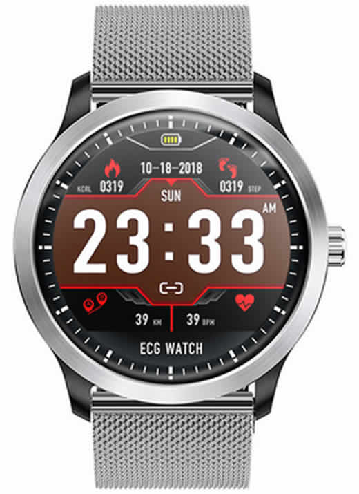 Smartwatch 2020 Makibes BR4 PPG
