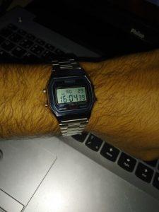 Relógio de Pulso de Aço Inoxidável 30 M À Prova D' Água Original 1123 photo review