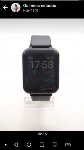 Relógio Smart Watch Inteligente Fit Pressão Arterial B57 RI001-2 photo review