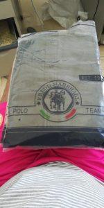 Camisa Manga Longa Marshall Estilo Militar Algodão Masculina photo review