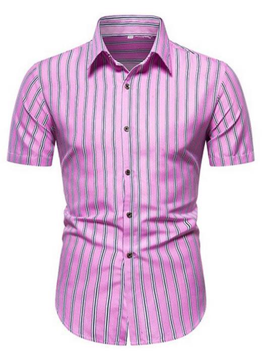 camisa social casual Rosa masculina, camisa social casual, camisa casual, camisa social masculina, social casual masculino, camisa casual masculina algodão, social casual Verão, Camisa Praia, manga longa, manga comprida