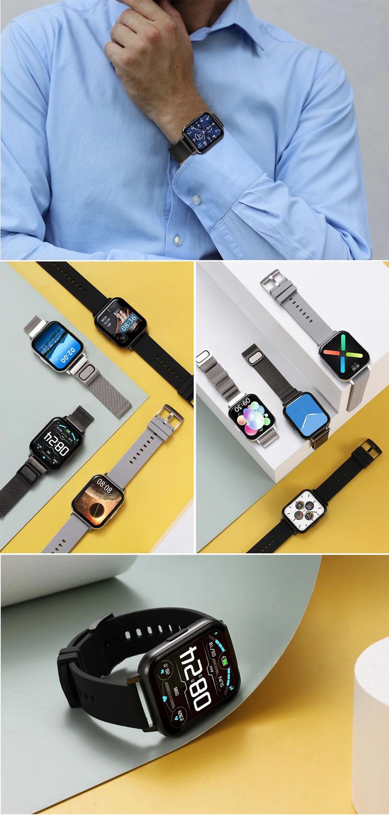 Relógio Eletrônico Smartwatch DTX 2020 2001