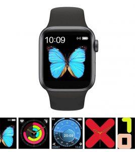 Smartwatch 2020 2021 Relógio Eletrônico Smartwatch Iwo W68 - 44mm