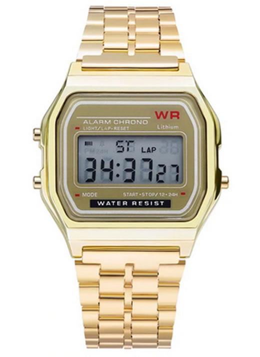 Relógios Digitais, relógios feminino, relógios feminino Inox, relógios feminino quadrado, relógios feminino WR, relógios femininos pulso