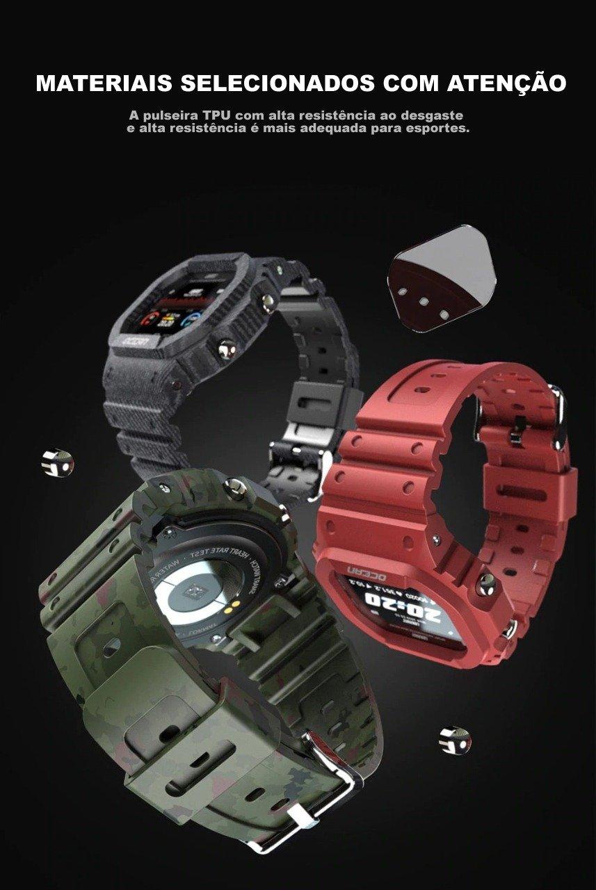 Relógio com Bluetooth, Relógio Fit, relógio militar americano, relógio militar casio, relógio militar sanda, relógio militar smartwatch, relógio militar sobrevivência, relógio militar sport watch, relógio militar tático, Relógio Pulso, Relógios, Relógios Digitais, Relógios Inteligentes, Relógios Smartwatch, Smartwatch 2021 lokmat smartwatch, relógio lokmat ocean, lokmat smartwatch é bom, lokmat smartwatch app, lokmat mk18, relógio lokmat mk28, lokmat smartwatch manual, lokmat tk04,