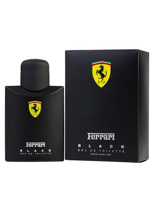 loja de perfumes, perfumes da moda, perfumes de grife, perfumes importados baratos, perfumes importados femininos, perfumes importados mais vendidos, perfumes masculinos, perfumes natural - Perfume Ferrari Black 100ml Importado